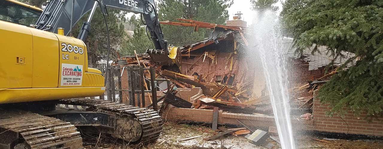 colorado excavating demolition